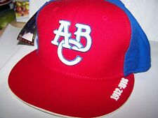 Atlanta Black Crackers Authentic NEGRO LEAGUE FITTED  HAT, 7 3/4 - RED FRONT