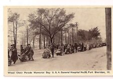 Wheel Chair Parade Memorial Day General Hopsital Fort Sheridan Il Military