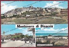 CAMPOBASSO MONTENERO DI BISACCIA 01 VEDUTINE Cartolina FOTOGRAFICA viagg. 1963