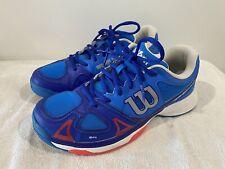 Mens Boys Wilson Rush Pro Tennis Shoes Size US6 Eur39 Near New