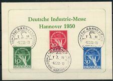 Berlin: Mi.Nr.68/70 auf Karte mit SST, gepr. Schlegel BPP. Mi: 600,-