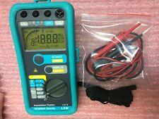 NORMA LEM Handy Telephon 100/250/500V 20GΩ Insulation Tester (Megger Yokogawa)