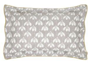 Scion Oxford Pillowcase Snow Drop 74 x 48cm Reversible