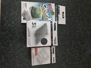 spare filters for fluval spec + algae pads