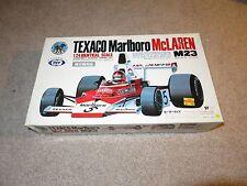 Tilt Texaco Marlboro McLaren M23 Motorized 1/24 Model Kit Complete Unbuilt