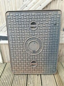 Cast Iron Manhole Inspection Drain Cover & Frame 656mm x 507mm