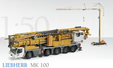 Conrad 2101 (new) Liebherr MK100 Truck Mounted Tower Crane 1/50 MIB