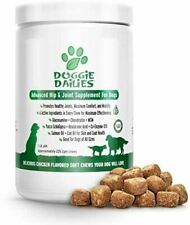 Glucosamine for Dogs 225 Soft Chews Advanced Hip and Joint Supplement for Dogs w