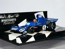 MINICHAMPS Tyrrell 006 Jackie STEWART champion du monde 1973 1/43