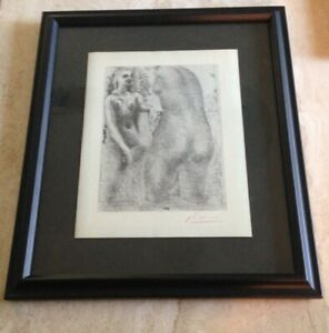 "Picasso (After) ""Model and Sculptured Female Torso"" (Vollard) - Signed"