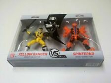 Power Rangers Good VS Evil Legacy Collection Silver Yellow Red