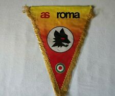 a.s. Roma Big Bandierina calcio football pennant wimpel vintage flag 70 - 80s