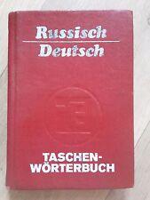 Taschenwörterbuch Russisch-Deutsch - Rudolf Ruzicka