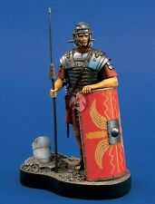 Verlinden 120mm (1/16) Roman Legionary with Spear and Shield Vignette w/Base 773