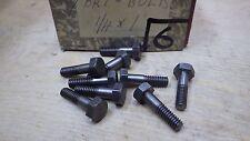 10 x 1/10.2cm x 2.5cm BSW Whitworth Sechseckig Kopfschrauben Hell Auto Kiste 6