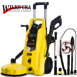 Wilks-USA Nettoyeur haute pression RX525 - très puissant - 165 bar / 2400 psi