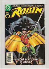 ROBIN #100 NM+ 9.6 BATMAN APPEARANCE! LAST CHUCK DIXON ***WHITE PAGES*** 2002