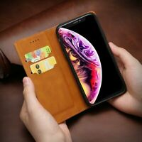For iPhone X/ XS MAX/ XR 7 8 Plus Flip Leather Wallet Case Card Slot Stand Cover