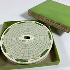 Vintage Bacharach Tempscribe S-289 Charts, 7-Day / +40 to +100 F (100 Count)