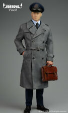 VORTOYS 1/6 Male WWII Allied Officer Windbreaker Suit Clothes F 12'' Man Figure