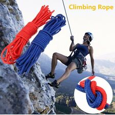 10M Climbing Mountaineering Rappelling Rope Practical Escape Rescue Rope 6mm