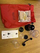Grindripper Tip Coffee Drip Filter and Grinder Set Blackwine