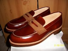 Grenson G-Lab Ltd Edition Penny Loafer for Foot The Coacher – Sz 11 (Mahogany)