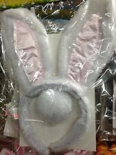 Easter Bunny Hair Band Ears And Tail. Great For Easter Bonnet Day