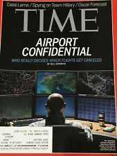 TIME Magazine.  March 3, 2014.  AIRPORT CONFIDENTIAL .