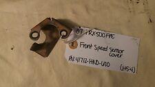 USED OEM HONDA TRX500 FOREMAN 41712-HN0-670 FRONT SPEED SENSOR COVER (HF-5)