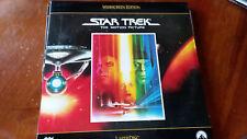 Star Trek Laserdisc Movies Boxed Set of 6