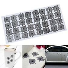 Helmet Window Shot Auto Car's Aaccesories Bullet Hole Sticker