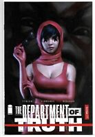 DEPARTMENT OF TRUTH #5 NM WILL JACK EXCLUSIVE / SOLD OUT / LTD TO 400 NM IMAGE