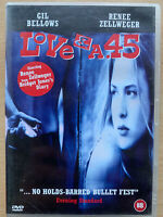 Love and a .45 DVD 1994 Lovers on the Run Cult Road Move w/ Renee Zellweger
