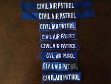 CIVIL AIR PATROL SERVICE NAME TAPE PATCH SET