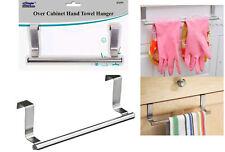 23cm Over Kitchen Cabinet Door Tea Hand Towel Rail Holder Hanger Storage New