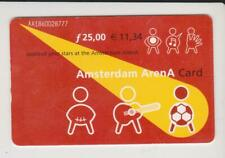 Amsterdam Arena Card 2001 Applaud your stars at the Amsterdam ArenA AA1860028777
