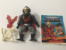 He-Man Hordak, Masters of the Universe, vintage, complete, W/Comic