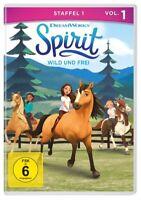 SPIRIT: WILD UND FREI-STAFFEL 1-VOL.1 -    DVD NEU
