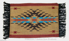 Woven Placemat Table Mat Native American / Southwestern Fringed Design #2