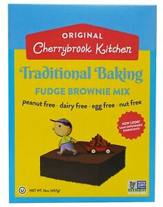 Cherrybrook Kitchen Traditional Baking Fudge Brownie Mix (6 Pack)