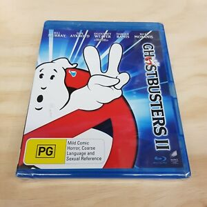 GHOSTBUSTERS II (1989) Blu ray Inc Special Features NEW + SEALED (Tracked Post)