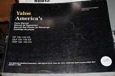 Yale Modell Gp 135 155 GLP Gpd Gabelstapler Teile Manuell Buch Katalog Liste