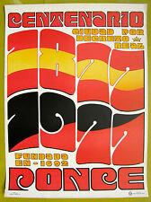 Centenario Ciudad De Ponce 1872 1972 Cartel Poster Puerto Rico Rotarios Fortuno
