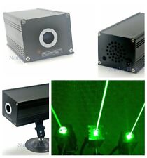 Industrial Green Laser Module 532nm 100mw 12V Fat Beam Lazer f Room Escape Props