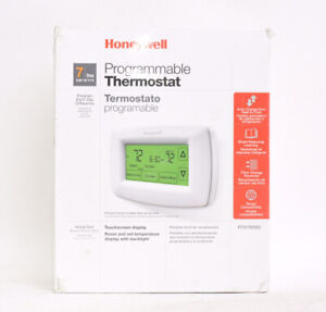 Honeywell Home RTH7600D 7-Day Programmable Touchscreen Thermostat White