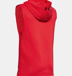 Under Armour Boy's Youth Project Rock Mana Sleeveless Hoodie