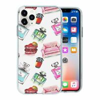 For Apple iPhone 11 PRO MAX Silicone Case Perfume Chic Pattern - S1241