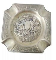 VINTAGE FARBER BROTHERS N.Y.C # 101 BRASS COPPER ASHTRAY