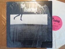 PRIVATE PRESS LP RECORD/ DIVEKINGS/SELF TITLED/6 SONG GARAGE KANSAS/ VG+ VINYL